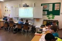 Klasse mit Whiteboard